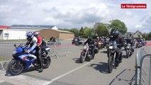 Pays de Landivisiau (29). 120 motards roulent au profit de la SNSM