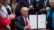 Trump signs executive order on education