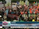 Taiwán: trabajadores públicos denuncian pésimas condiciones laborales