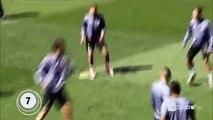 Rondo perfecto del Real Madrid 20 Toques sin dejar caer el balón