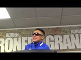 Adrian Granados on how adrien broner looked in ring - ab looked good EsNews Boxing