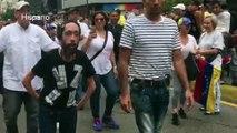 Maratonista Maickel Melamed participó en movilización opositora