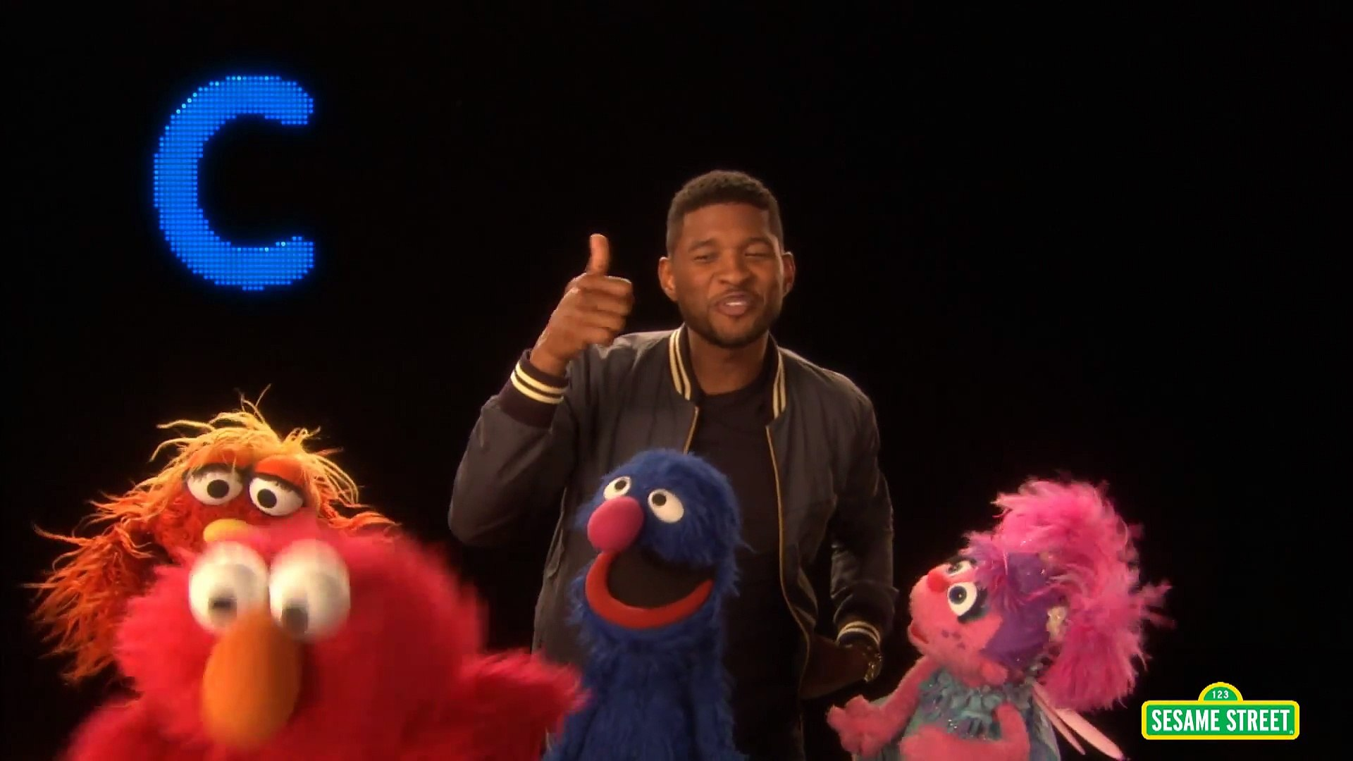 Sesame Street Usher S Abc Song Video Dailymotion