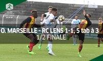 Coupe Gambardella 2017, demi-finale : Marseille-Lens (1-1, 5 tab à 3), le résumé