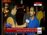 غرفة الأخبار   شاهد…كاميرا سي بي سي ترصد شهادة شهود العيان لحادث حريق الغورية بوسط القاهرة