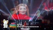 Sofía Carson Le Rindió Tributo a Britney Spears y Camila Cabello Gana RDMA