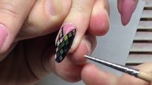 DREAM NAILS with Diamond Rhombus & Very Vibrant Red Bows! Exclusive Nail Art Tutorial for Beginners