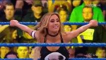 WWE SMACKDOWN 01-03-17 Carmella w/James Ellsworth vs Aliyah