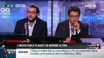 QG Bourdin 2017 : Magnien président ! : Marine Le Pen qui plagie le discours de François Fillon !