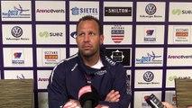 J29 PROD2 : Après match ASBH - Vannes, réaction de l'entraîneur David Aucagne