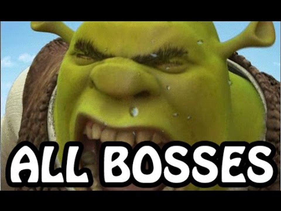 Shrek 2 All Bosses | Final Boss (PS2, Gamecube, XBOX)