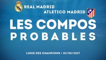 Real Madrid-Atlético Madrid : les compos probables