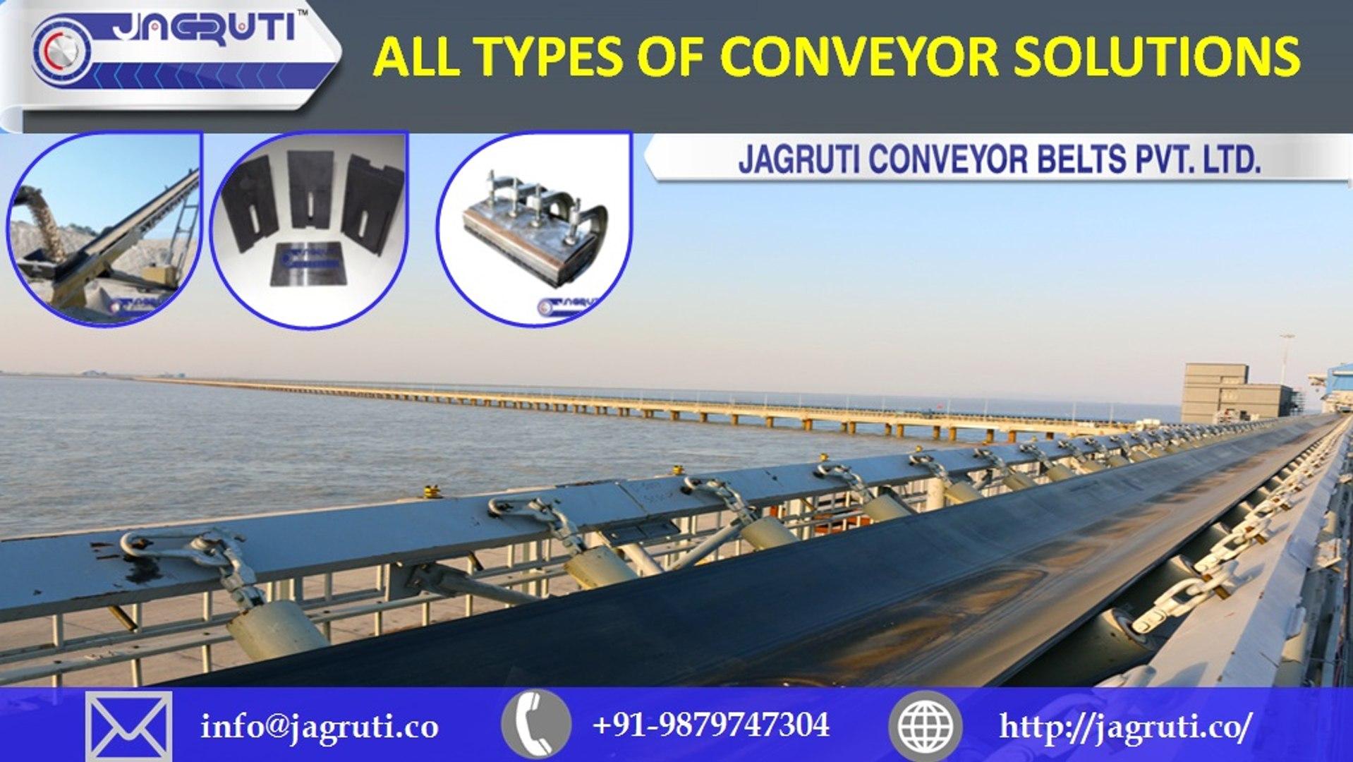 Heat Resistant Conveyor Belt Manufacturer in Ahmedabad, Gujarat, India -  jagruti co