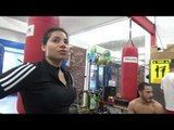 mom does not want her daughter to be in boxing!!! EsNews Boxing