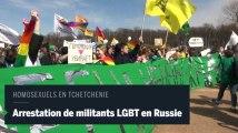 Russie : des militants LGBT arrêtés pour leur soutien aux homosexuels de Tchétchènie