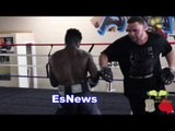 Explosive Erickson Lubin The Hammer speed and power EsNews Boxing