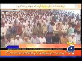 Aerial view of Nawaz Sharif jalsa in Layyah