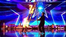 Kieran Beattie brings the danger to BGT Auditions Week 2 Britain's Got Talent 2017