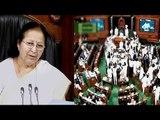 Sumitra Mahajan suspends 25 Congress MPs from Lok Sabha
