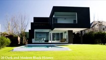 20 Dark and Modern Black Houses-AraQ2