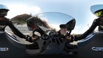 Yamaha R1M 360 Degrees Video With Samsung Gear 360-fgr