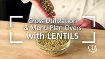 Cross Utilization and Menu Plan Overs with Lentils - Lentil and Bulgur Pilaf-0P