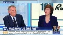 """Dupont-Aignan, éventuel Premier ministre de Le Pen: """"J'ai résisté à l'éclat de rire"""", sourit Bayrou"""
