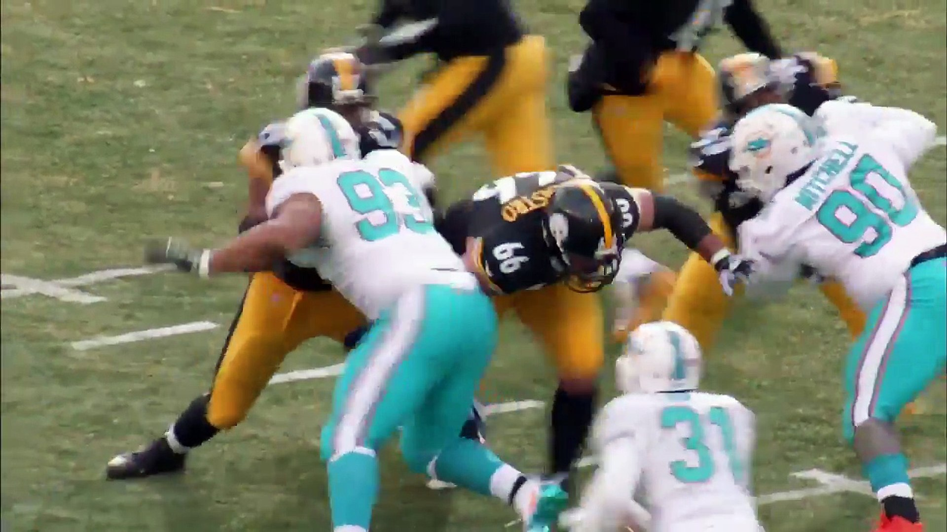 #97 David DeCastro (G, Steelers) Top 100 Players of 2017 _ NFL