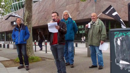 Meeting de rue 1er Mai anarchiste - rennes - 2017