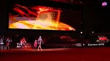2017 Porsche Tennis Grand Prix Semifinals - Kristina Mladenovic vs Maria Sharapova - WTA Highlights