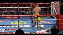 Anthony Joshua vs Gary Cornish 1st round KO