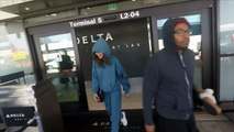 Zendaya Is Asked Who Was Best Dressed At Met Gala, Sports Her Own Brand At LAX