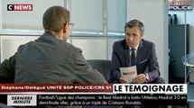 CRS en flamme - Témoignage de Stéphane délégué UNITE SGP POLICE - CRS 51