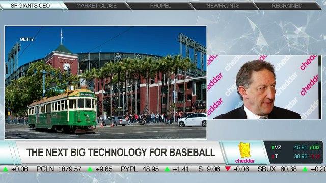 SF Giants President Laurence Baer Joins Cheddar