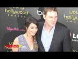 Aubrey Plaza and Chris Pratt at 14th Annual Young Hollywood Awards