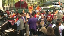 US workers protest for immigrant rights unite in May Day rally