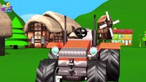 Tractor Finger family Songs 3D _ Finger Family Songs For Children _ 3D Animation Nursery Rhymes