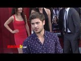 """Zac Efron at """"Rock of Ages"""" World Premiere Arrivals - Maximo TV Red Carpet Video"""