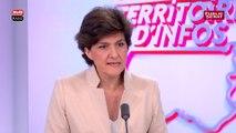 """Sylvie Goulard : """"Sur l'euro il y a un flottement total"""" de Marine Le Pen"""
