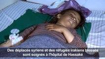 Syrie: des déplacés soignés après l'assaut de l'EI sur un camp