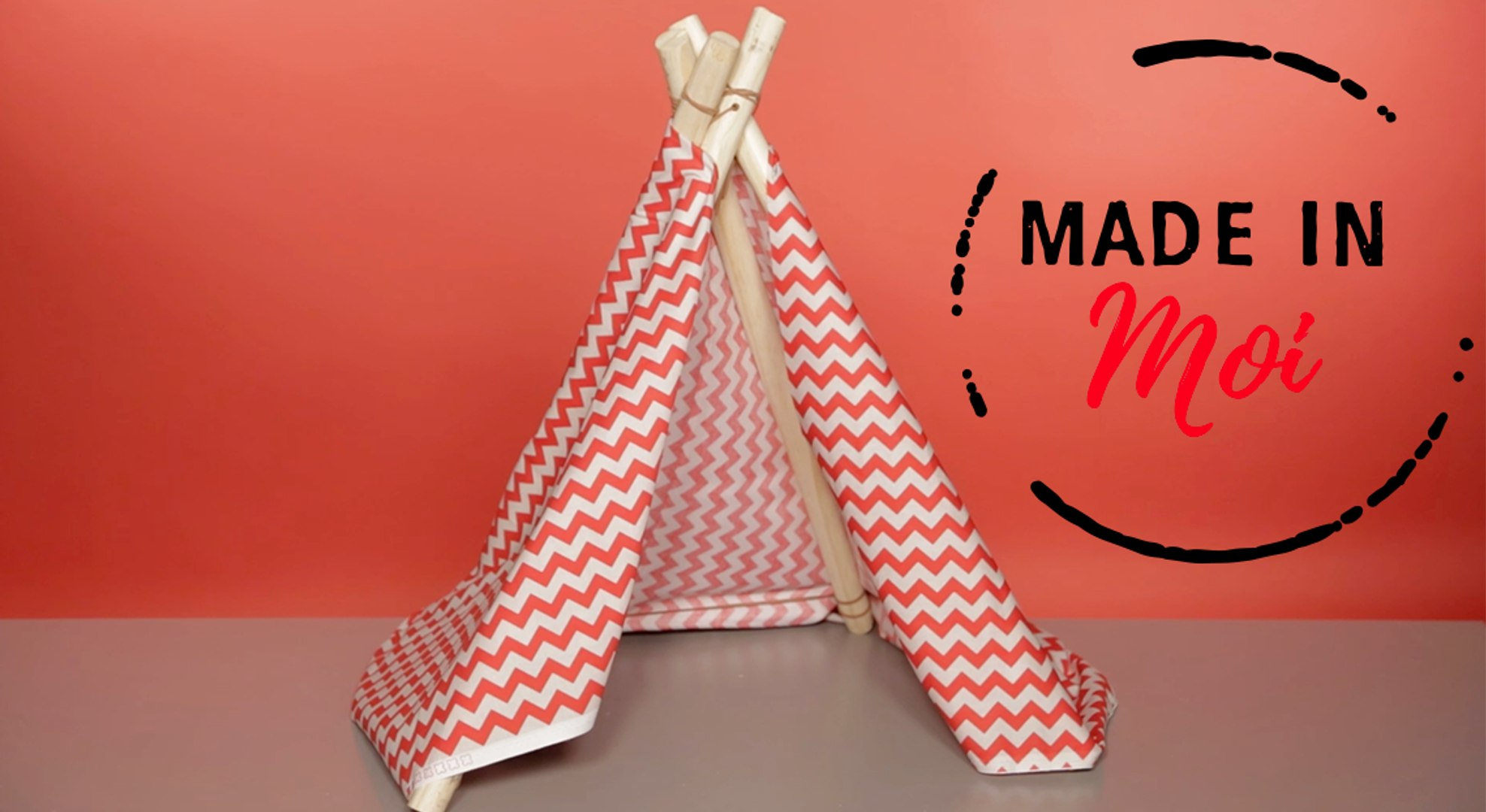 Tipi Pour Chat A Fabriquer made in moi : comment fabriquer un tipi pour chat ?