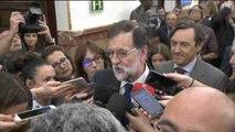 """Rajoy espera se apruebe este """"buen presupuesto"""" y preparar después el de 2018"""