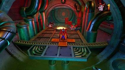 Gameplay Sewer or Later (PS4) de Crash Bandicoot N.Sane Trilogy