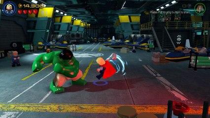 Thor vs. Hulk - Helicarrier Fight Scene - LEGO Marvel's Avengers