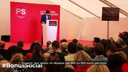 Propositions concrètes du PS : Le Bonus Social Généralisé