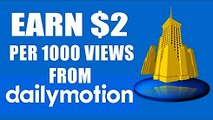 How to earn money from Dailymotion Complete Earn Money training Urdu/Hindi