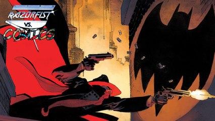 BATMAN/THE SHADOW #1 - Razör vs. Comics