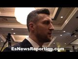 Carl Froch talks McGregor vs Mayweather - EsNews Boxing