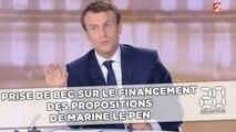 Débat Macron - Le Pen: Prise de bec sur le financement des propositions de Marine Le Pen