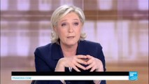 """LE DÉBAT - M.Le Pen : """"Je suis la candidate du pouvoir d'achat, vous M. Macron vous êtes le candidat du pouvoir d'acheter"""""""